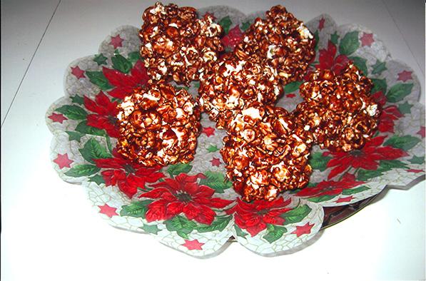 Popcorn balls-original